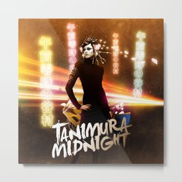 Tanimura Midnight Metal Print