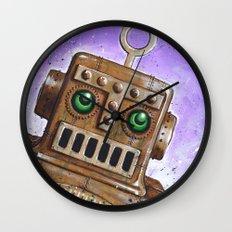 i.Friend: Steam Punk Robot Wall Clock
