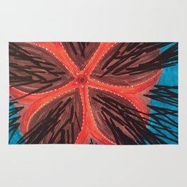 Fire Urchin Rug