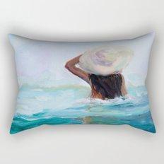 Private Beach Rectangular Pillow