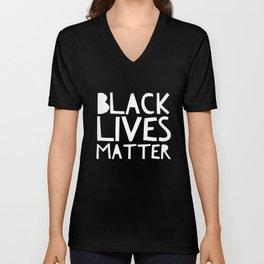 Black Lives Matter 3 Unisex V-Neck
