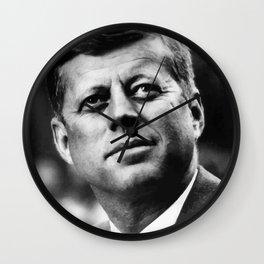 President John F. Kennedy Wall Clock