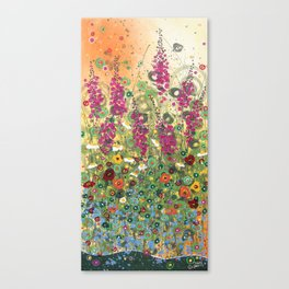 Fireweed in Melon Canvas Print