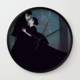 Reylo Wuthering Heights Wall Clock