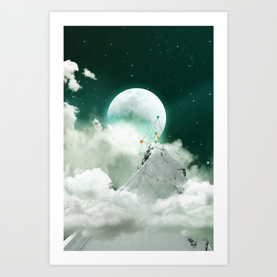 COME TO KISS GOODNIGHT Art Print