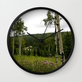 Spring in WaterValley Wall Clock