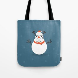 Day 16/25 Advent - Snow Trooper Tote Bag