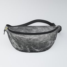 Enigmatic Black Marble #1 #decor #art #society6 Fanny Pack