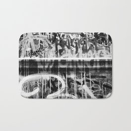 The Writing on the Wall Bath Mat
