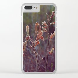 Forest secrets Clear iPhone Case