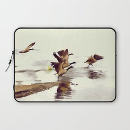 The Take Off - Wild Geese Laptop Sleeve