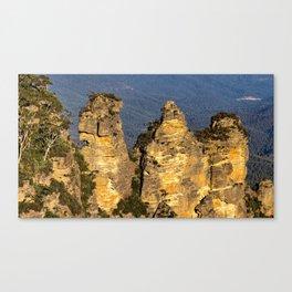 Three Sisters, Blue Mountains, Sydney Canvas Print