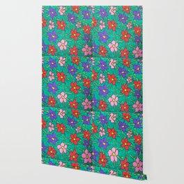Sweet Floral Garden Wallpaper