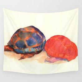 A couple of turtles Wall Tapestry