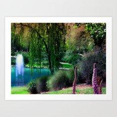 Utopia Garden Art Print