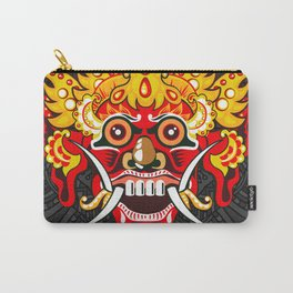 Balinese mask / Bali / Barong #3 Carry-All Pouch