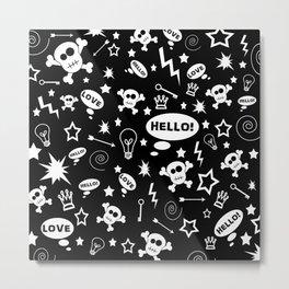 Hello Love! Metal Print