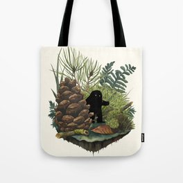 Tiny Sasquatch Tote Bag