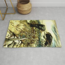 The Two Crows Rug