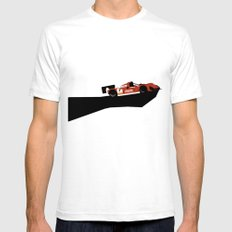 333sp X-LARGE White Mens Fitted Tee
