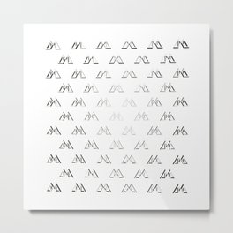Amalgamamma Pattern Metal Print