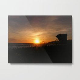 Off Duty Metal Print