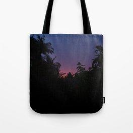 Sunset o the Maldives Tote Bag
