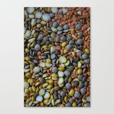 Split Peas Canvas Print