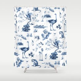 Exotic Aesthetic pattern Shower Curtain