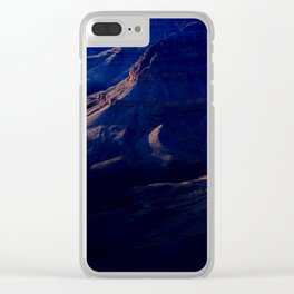 Grand Canyon Subtle Evening Light Clear iPhone Case