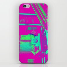 Industrial Abstract Purple iPhone & iPod Skin