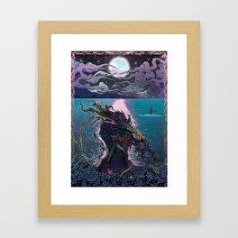 Midnight Meeting Framed Art Print