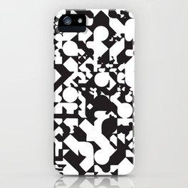 Jazz Noir iPhone Case