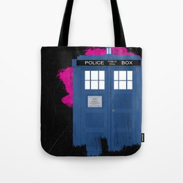 Time and Relative Dimension in Space Tote Bag