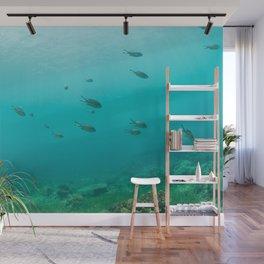 Fish-eye-view Wall Mural