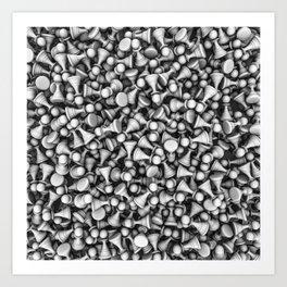 White pawns Art Print