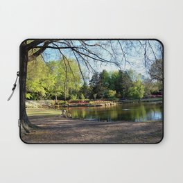 Muscogee (Creek) Nation - HonorHeights Park Azalea Festival, Duck Pond Laptop Sleeve