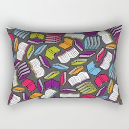 So Many Colorful Books... Rectangular Pillow