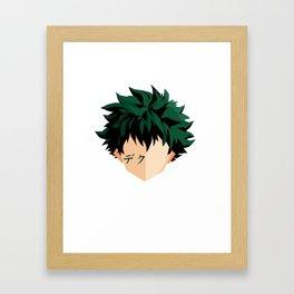Deku - My Hero Academia Framed Art Print