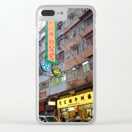 Morning in Kowloon Clear iPhone Case