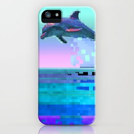 Dolphin Jitter iPhone Case