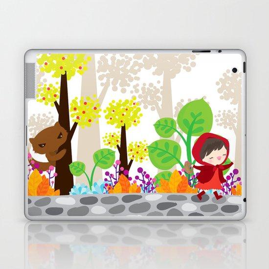 little red riding hood Laptop & iPad Skin