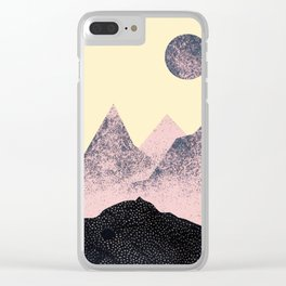 One Day Everything Will Happen – Collage Glitter Art Clear iPhone Case