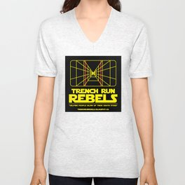 Trench Run Rebels Unisex V-Neck