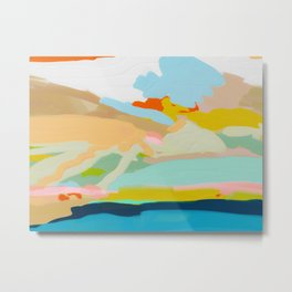 abstract summer landscape Metal Print