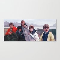 goonies Canvas Prints featuring The Goonies by lensebender