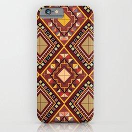 Saputangan - an Indigenous Filipino Tapestry iPhone Case