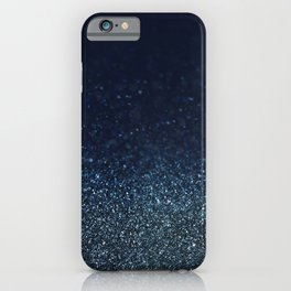 Shiny Glittered Rain iPhone Case