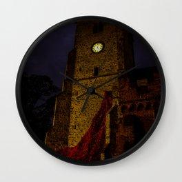 night poppies Wall Clock