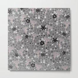 teeny floral print Metal Print